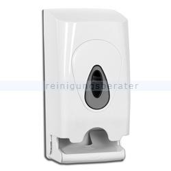 Toilettenpapierspender All Care twin roll Kunststoff weiß