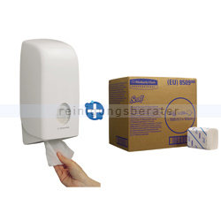 Toilettenpapierspender Aquarius Kimberly Clark Set 11