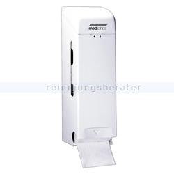 Toilettenpapierspender dreifach Stahlblech weiß