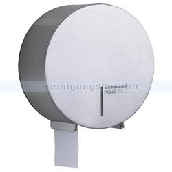 Toilettenpapierspender Großrolle klein Edelstahl gebürstet