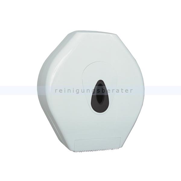 Toilettenpapierspender Großrolle midi Kunststoff weiß