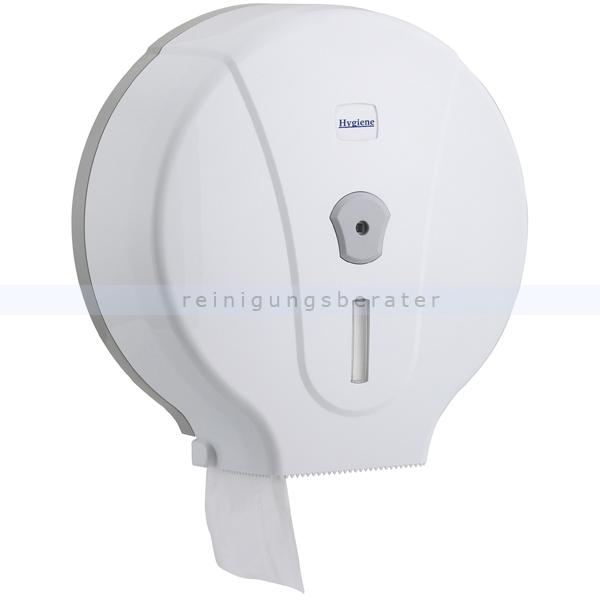 Toilettenpapierspender Großrollen Profi Maxi weiß