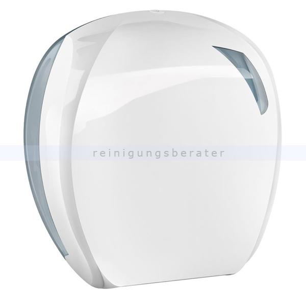 Toilettenpapierspender Großrollen Skin weiß