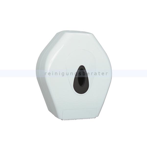 Toilettenpapierspender Großrollenspender mini Kunststoff weiß