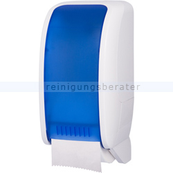 Toilettenpapierspender JM Metzger Cosmos weiß-blau