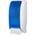 Zusatzbild Toilettenpapierspender JM Metzger Cosmos weiß-blau