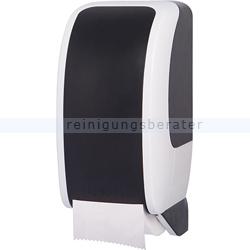 Toilettenpapierspender JM Metzger Cosmos weiß-schwarz