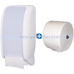 Toilettenpapierspender JM Metzger Cosmos weiß im Set