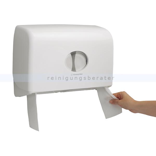Toilettenpapierspender KC AQUARIUS Toilet Tissue Doppelt