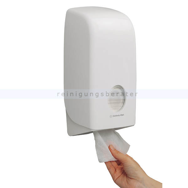Toilettenpapierspender KC AQUARIUS Toilet Tissue Einzelblatt
