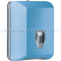Toilettenpapierspender MP622 Einzelblatt Softtouch, blau