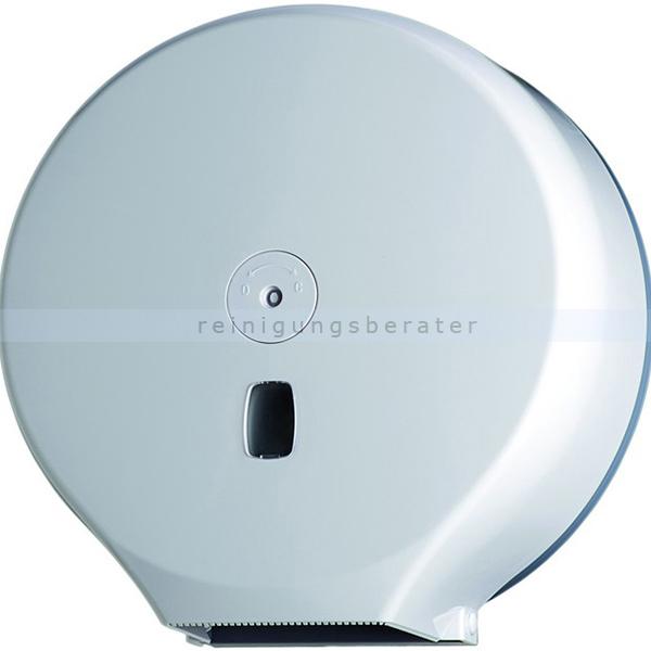 Toilettenpapierspender Orgavente BASICA ABS weiß 400 m