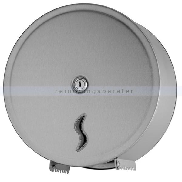 Toilettenpapierspender Orgavente BRINOX abschließbar 200 m