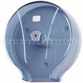 Toilettenpapierspender Orgavente WAVE transparent blau 400 m