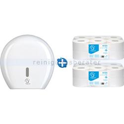 Toilettenpapierspender Papernet Mini Jumbo im Set