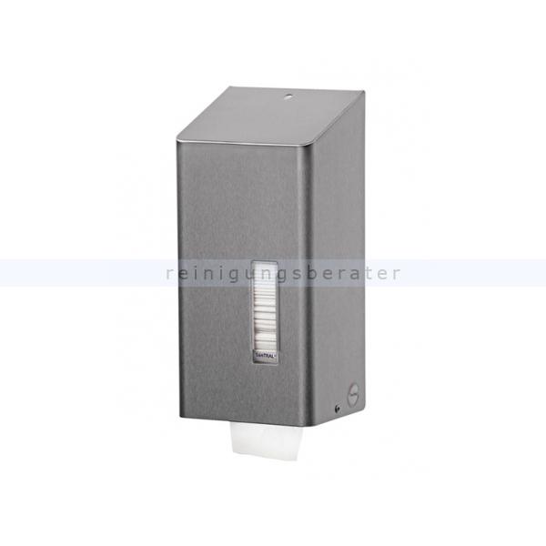 All Care Toilettenpapierspender SanTRAL Einzelblatt Toilettenpapierspender für Einzelblatt, Wandmontage 2201463 AFP-C