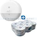 Toilettenpapierspender Set Tork SmartOne T8 Spender, Papier