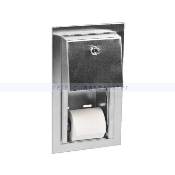 toilettenpapierspender simex aus edelstahl zum einbauen. Black Bedroom Furniture Sets. Home Design Ideas
