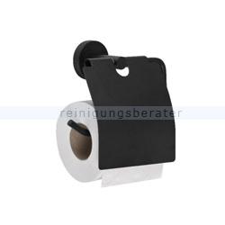 Toilettenpapierspender Simex Black Line Edelstahl schwarz