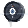 Toilettenpapierspender Simex Black Line schwarz-transparent