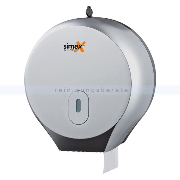 Toilettenpapierspender Simex Elegance ABS metallic