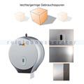 Toilettenpapierspender Simex Elegance ABS metallic B-WARE