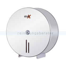 Toilettenpapierspender Simex Inox Edelstahl poliert für 400 m