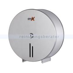 Toilettenpapierspender Simex Inox Edelstahl satiniert für 400 m