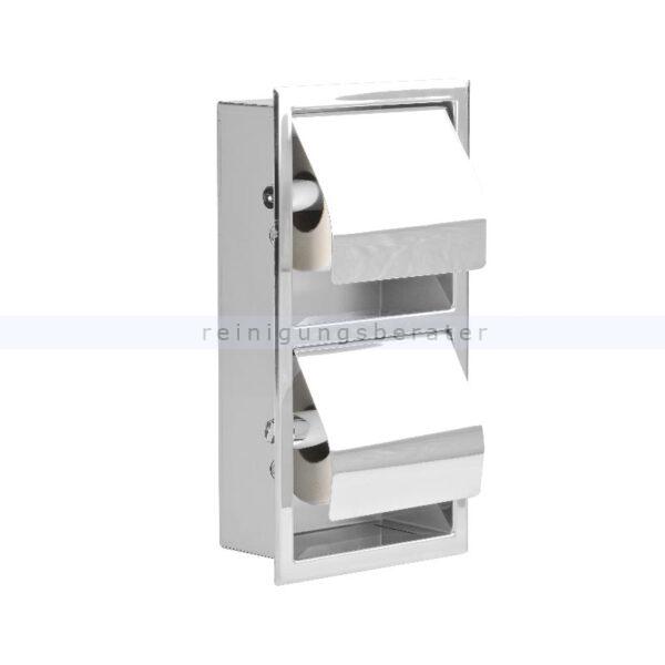 Toilettenpapierspender Simex Inserts Doppelhalter vertikal