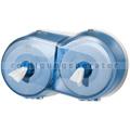 Toilettenpapierspender SmartOneMini Doppelrollenspender blau