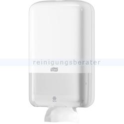 Toilettenpapierspender Tork Einzelblatt Spender weiß