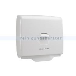 Toilettensitzauflagen-Spender Kimberly Clark AQUARIUS Weiß