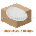 Tortenspitzen oval 16 x 13 cm weiß 2000 Stück