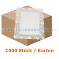 Tortenspitzen rechteckig 30 x 40 cm weiß 1000 Stück