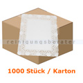 Tortenspitzen rechteckig 40 x 50 cm weiß 1000 Stück