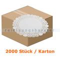 Tortenspitzen rund 28 cm weiß 2000 Stück