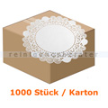Tortenspitzen rund 30 cm weiß 1000 Stück