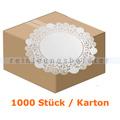 Tortenspitzen rund 32 cm weiß 1000 Stück