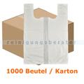 Tragetasche Abena T-Shirt Bags 46 x 54 cm weiß, Karton