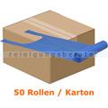 Tragetasche Abena Tragetüten 37 x 60 cm blau, Karton