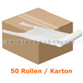 Tragetasche Abena Tragetüten 37 x 60 cm weiß, Karton
