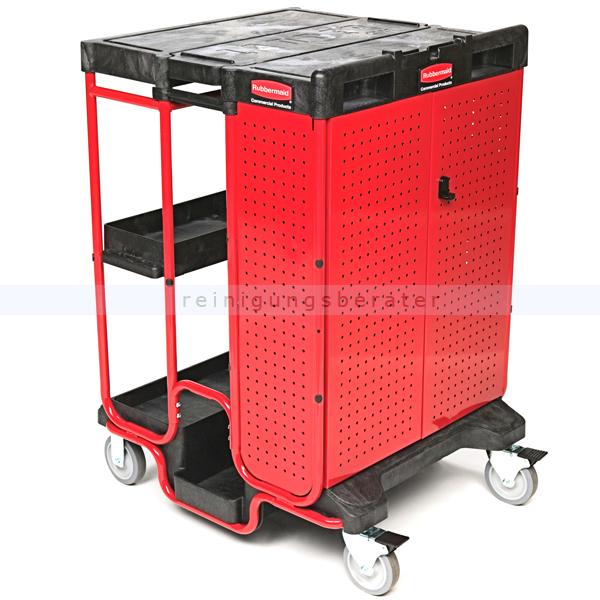 Transportwagen Rubbermaid Commercial 3 Leiterwagen schwarz gewährleistet Stabilität und Sicherheit 76176384