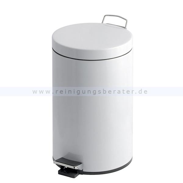 Treteimer 20 L weiß