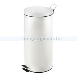 Treteimer 30 L weiß
