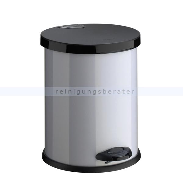 Treteimer aus Metall 14 L BEKAFORM Abfalleimer