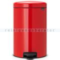 Treteimer Brabantia Tret-Mülleimer rot 20 L