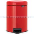 Treteimer Brabantia Tret-Mülleimer rot 5 L