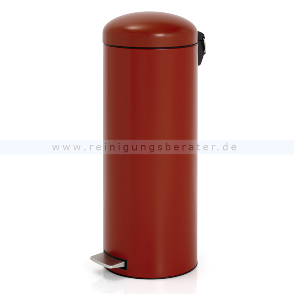 treteimer brabantia tritt m lleimer retro 20 l deep red. Black Bedroom Furniture Sets. Home Design Ideas
