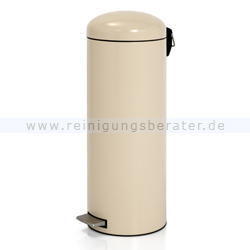 treteimer brabantia tritt m lleimer retro 20 l mandel. Black Bedroom Furniture Sets. Home Design Ideas