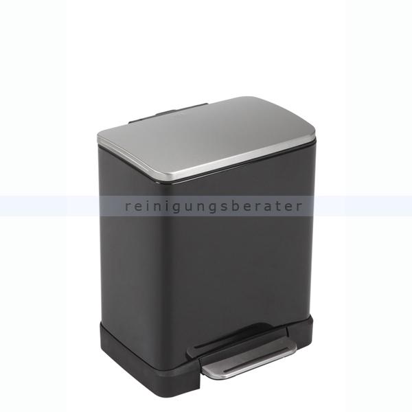 tretm lleimer eko e cube 20 l schwarz matt edelstahl. Black Bedroom Furniture Sets. Home Design Ideas